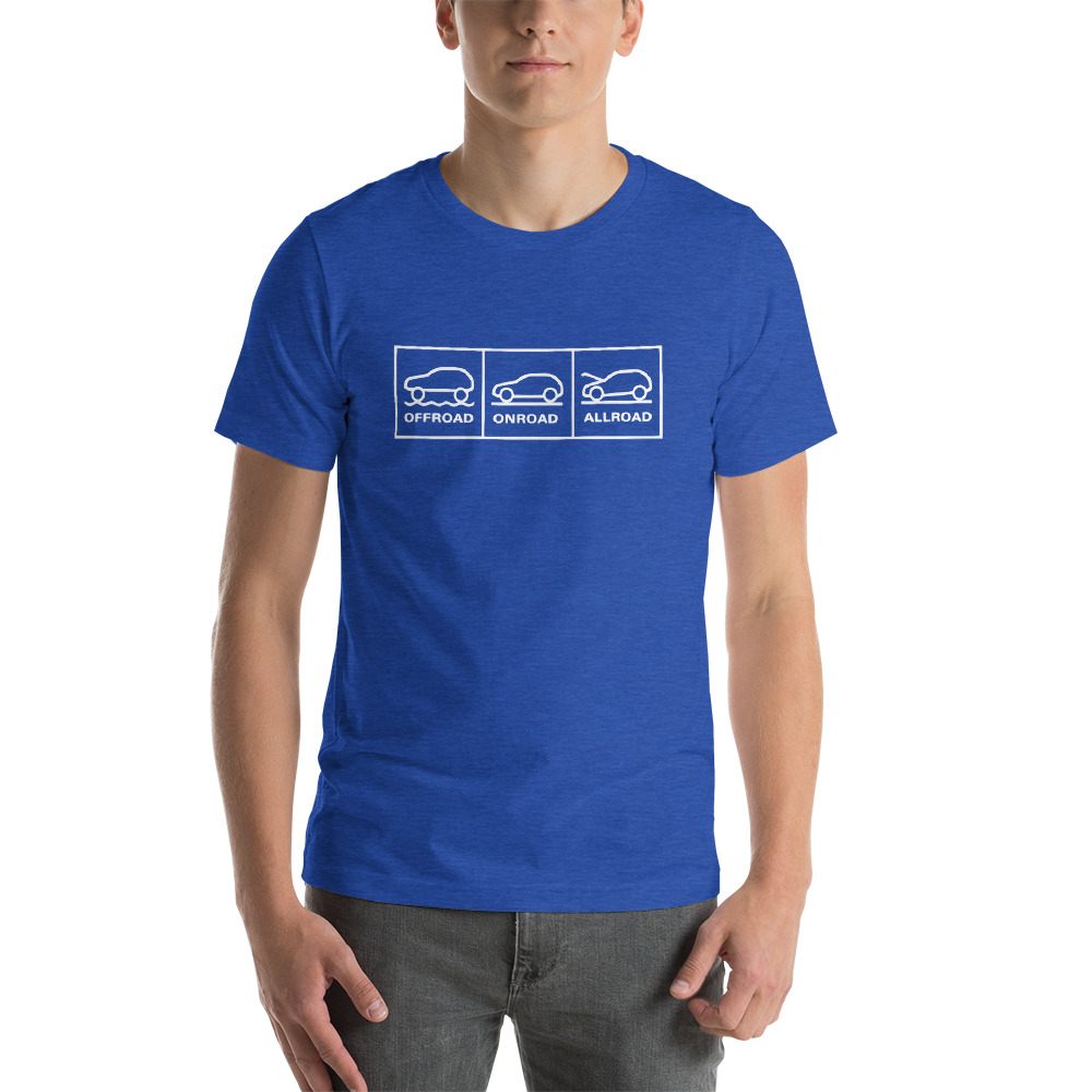 "Camp ""offroad, onroad, allroad"" Shirt"