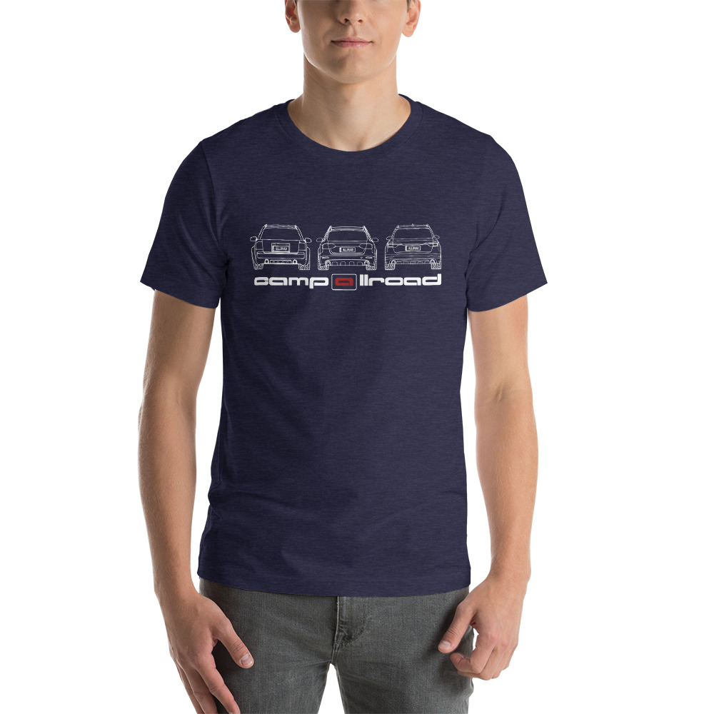 "Camp allroad ""Rear Trio"" Shirt"